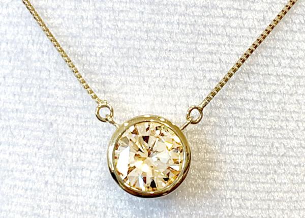 【令和記念】第1弾♪ 「天然ダイヤモンドネックレス」 600,000円→250,000円!(詳しくはギャラリー下の店舗ブログをご覧ください) ※無くなり次第、終了となります