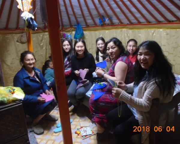 モンゴルの女性たち