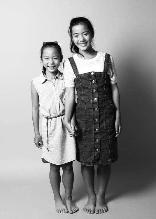姉妹の写真
