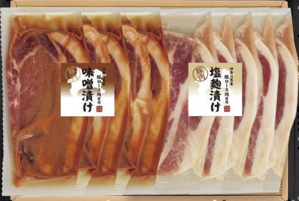 神奈川県産豚肉味噌漬け・塩麹漬け