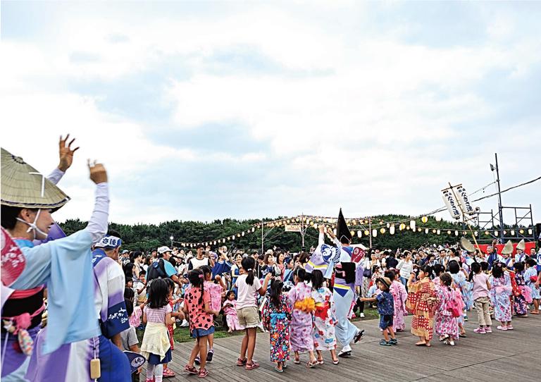 第12回辻堂かいひん盆踊り「辻の盆」