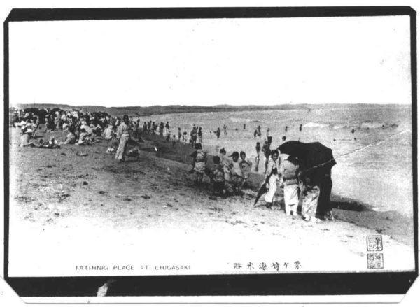 茅ヶ崎海水浴場(大正末~昭和初年)