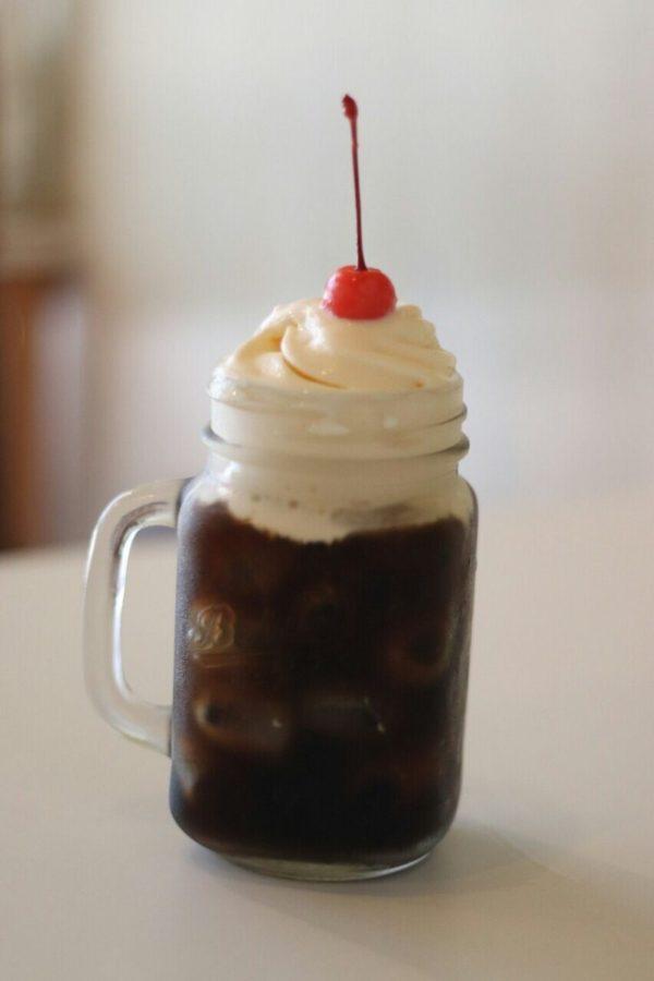 コーヒーフロートもあります♪