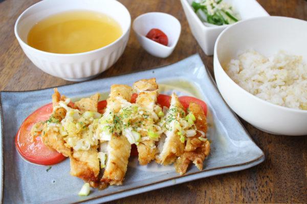 油淋鶏定食(税別1,000円)