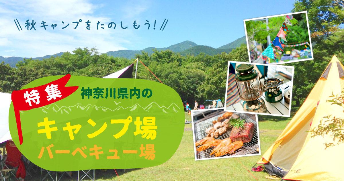 神奈川県内のキャンプ場