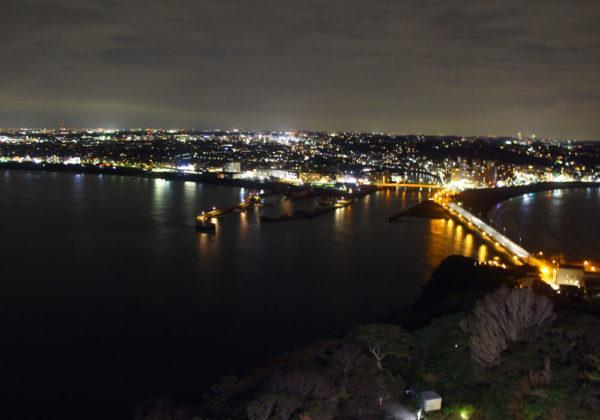 江の島 夜景