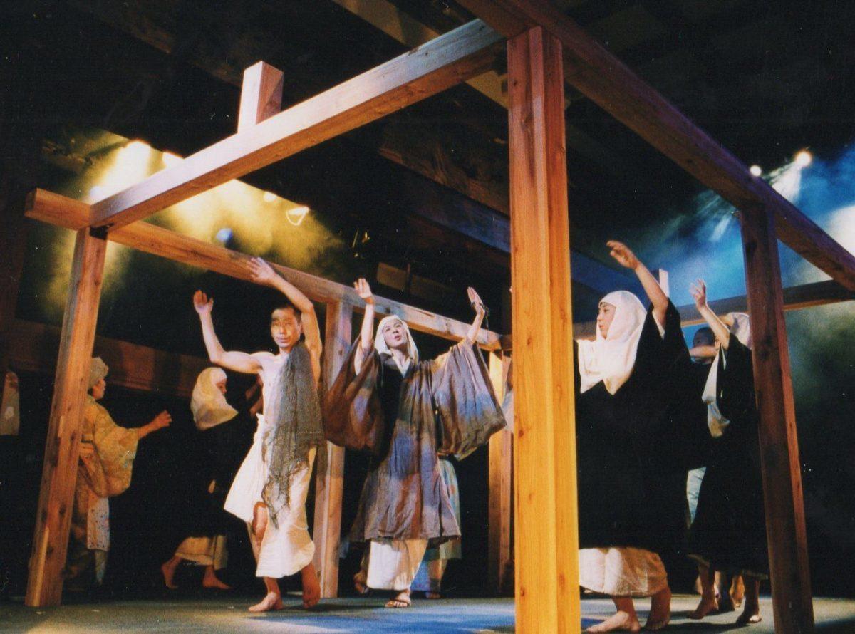 遊行かぶき公演「一遍聖絵 ーわが屍は野に捨て、獣に施すべし」