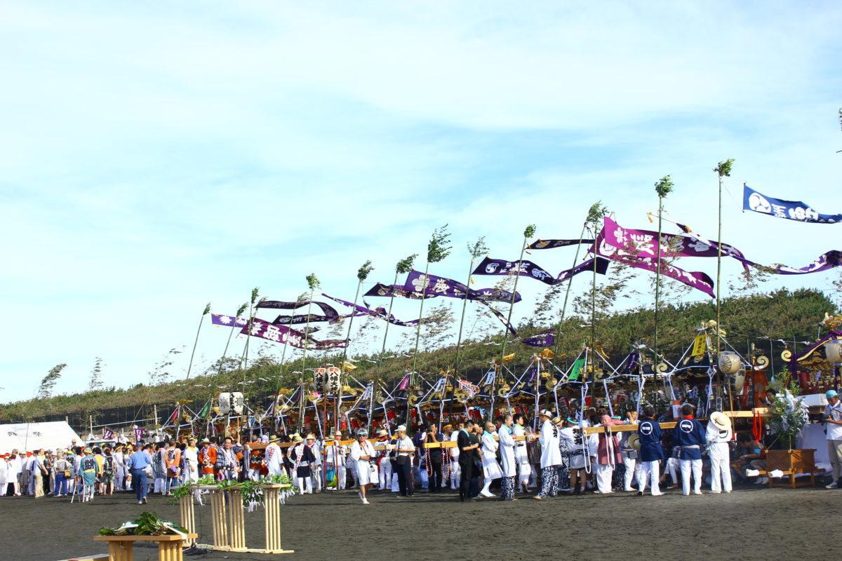 【開催中止】「暁の祭典 浜降祭」令和2年度は6月14日(日)に開催!