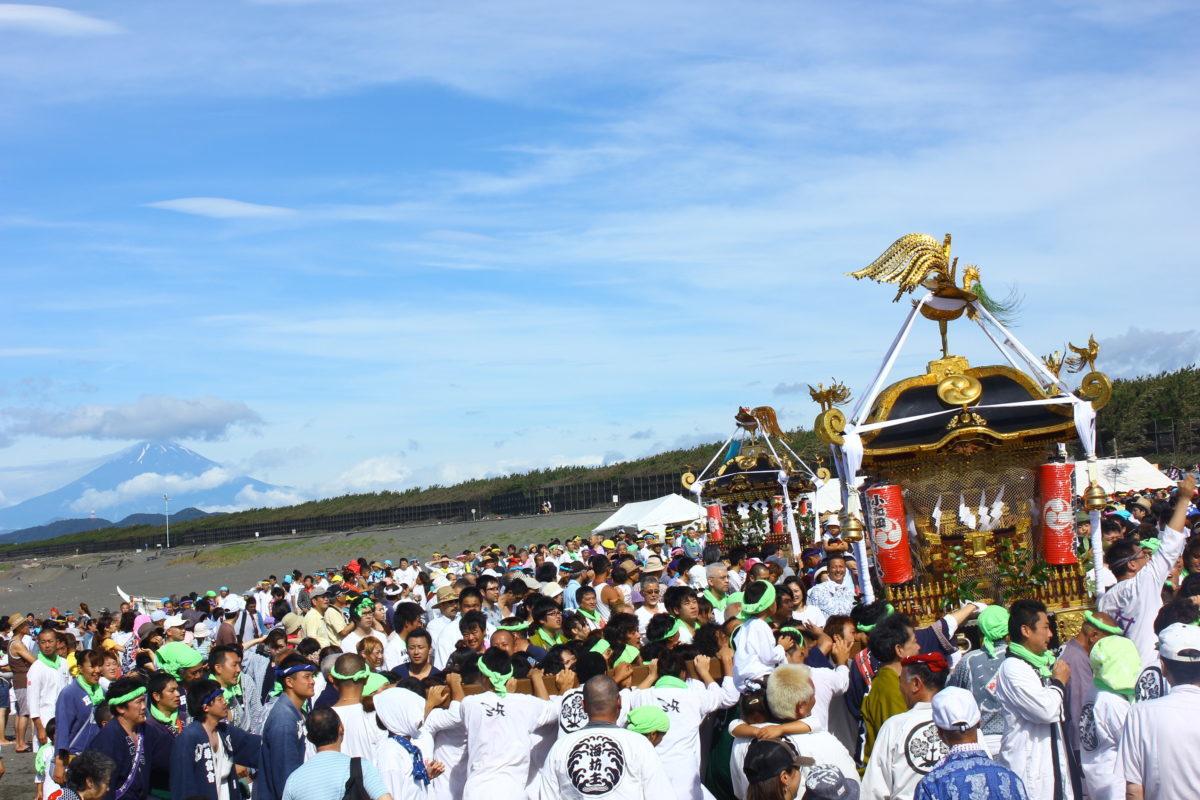 「暁の祭典 浜降祭」令和2年度は6月14日(日)に開催!