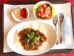 茄子と枝豆のカレー
