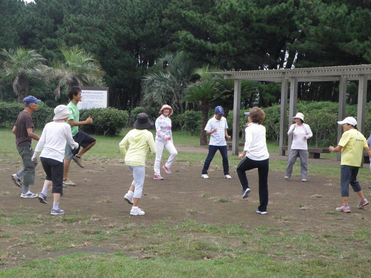 「うんどうプログラム」辻堂海浜公園